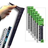 Alien Pros Golf Grip Wrapping Tapes (6-Pack) - Innovative Golf Club Grip Solution - Enjoy a Fresh New Grip Feel in Less Than 1 Minute (6-Pack, Black Magic)