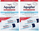 Aquaphor Healing Ointment, Dry, Cracked and Irritated Skin Protectant, .35 Ounce (2 Pack total 4 tubes)