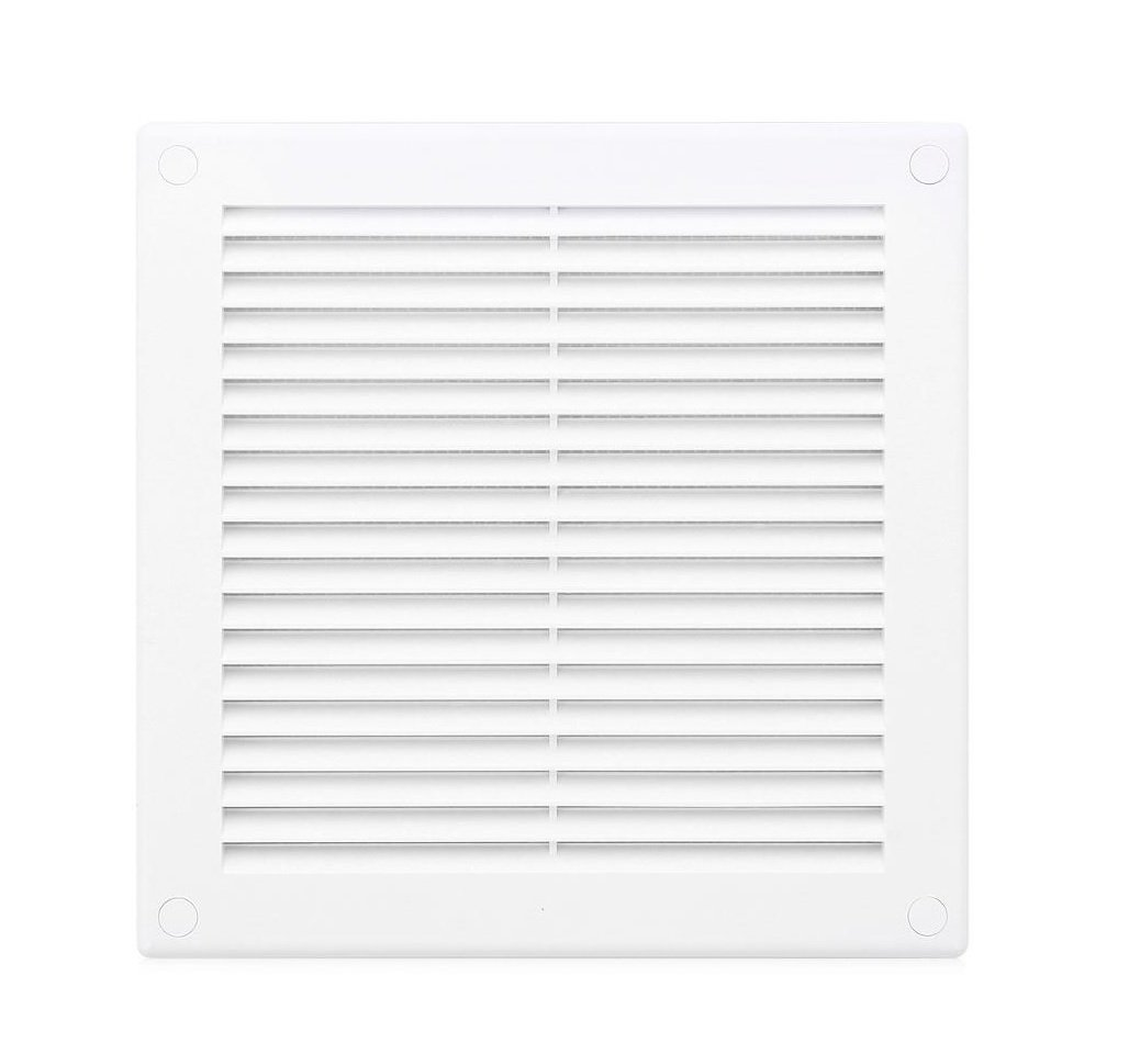 Air Vent Grille 100mm x 100mm / 4 x 4 inch with Fly Screen / Net / Mesh Wall / Ceiling Ventilation Ducting Cover 10cm TRU30 Armar Trading LTD