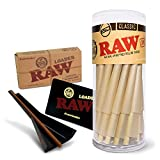 RAW Classic King Size Pre-Rolled Cones Bundle - 50
