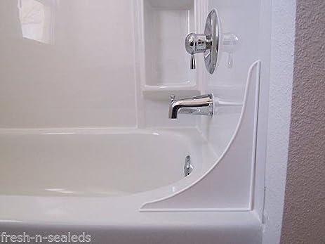 Amazoncom Splash Guard Prevent Water Shower Bathtub Partition - Splash guard for bathroom sink for bathroom decor ideas