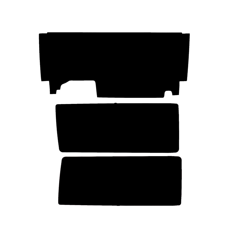 /Jeep Wrangler 2011/und 2016/2/t/ür pssc Pre Cut Heckscheibe Filme/