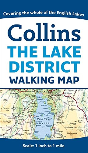 Collins The Lake District Walking Map (Collins Travel Guides)
