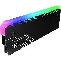 Martinimble 1 Unidad de disipador de Calor RAM de Memoria RGB refrigerador disipador de Calor refrigeración DDR Chipset Chaleco de refrigeración