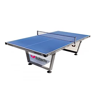Butterfly Playground Outdoor Table Tennis Table Blue