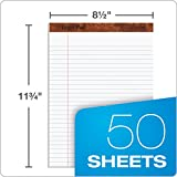 "TOPS The Legal Pad Writing Pads, 8-1/2"" x 11-3/4"", Legal Rule, 50 Sheets, 12 Pack (7533)"