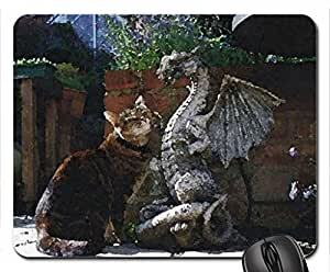 buddies Mouse Pad, Mousepad (Cats Mouse Pad, 10.2 x 8.3 x 0.12 inches)