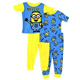 Despicable Me Minions Toddler 4 pc Cotton Pajamas Set (2T)