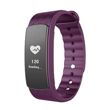 Bracelet Connecté Sport Cardiofréquencemètre, Lintelek Fitness Tracker dActivité Montre Connectée Etanche IP67 Bluetooth