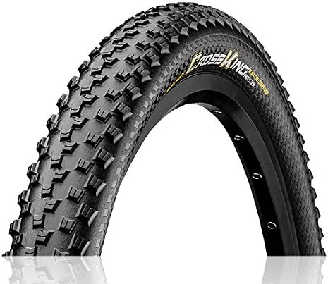 Continental Cross King - Neumático para bicicleta (26 x 2,3 cm), color negro: Amazon.es: Deportes y aire libre