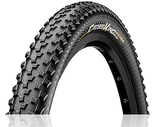 Continental Mountain Bike ProTection Tire - Black Chili, Tubeless, Folding Handmade MTB Performance Tire (26