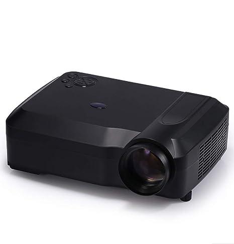 Proyector, Mini Proyector Portátil 3D Casero 1080P Full HD ...