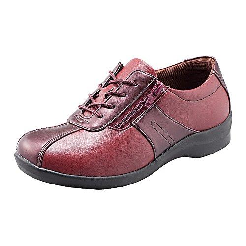 魔法の靴(=GPSインソールシューズ)gps端末を持たずにもたせる EVE195 (21.5, レッドC) B06XXYZGLY 21.5|レッドC レッドC 21.5
