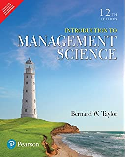 An Introduction To Management Science 13th Edition Pdf