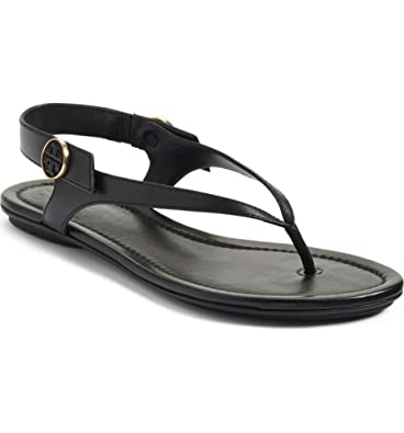 789e7437c8a791 Tory Burch Minnie Travel Sandals in Black 6