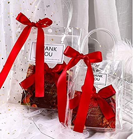 Lingling Bolsa de Caramelos de PVC Transparente para ...