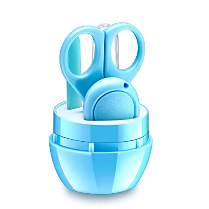 Kit de Cuidados Para Bebé, lbsel 4 en 1 seguridad Copa uñas bebé con ...