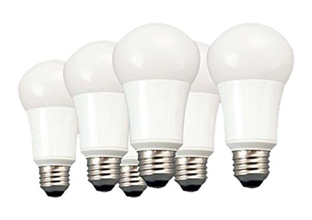 A19 Led Light Bulbs: TCP 60 Watt Equivalent A19 LED Light Bulbs, Non-Dimmable, Soft White (6  Pack) - - Amazon.com,Lighting