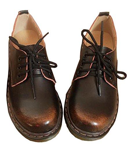Unisex 2018 Casual Genuine Leather Boots Men Black Mens Boots Men Dr Martins Men Shoes Work Safety Shoes Plus Size 35-46 Brown 6