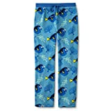 Disney Finding Dory Women's Coral Fleece Pajama Pants (Medium, Blue)