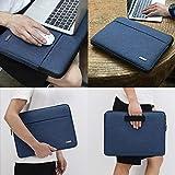 DOMISO 13.3 inch Canvas Laptop Sleeve Case