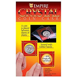 Crystal Coin Case Magic Trick