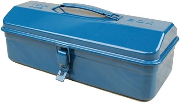 Caja Metalica Cantilever Metálicas,Caja De Herramientas De Montaje Con Manija,Caja De Herramientas De Almacenamiento De Taller Multiusos Para Almacenamiento De Herramientas (Azul),365×160×110mm: Amazon.es: Bricolaje y herramientas