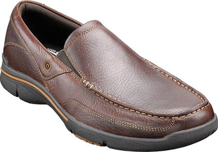 Rockport Heren Eberdon Casual Oxford- Donkerbruin Volnerf Leer