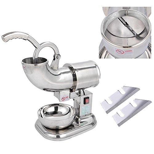 Countertop Ice Maker Crushed : Blade Countertop Electric Ice Shaver Maker Crusher Snow Cone Machine ...