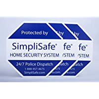 3x Yard Sign for SimpliSafe Home Security System