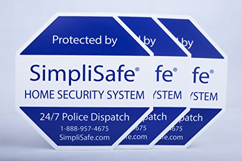 2x Yard Sign for SimpliSafe Home Security System