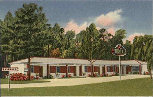 (L. Motel Homosassa Springs, Florida Original Vintage Postcard)