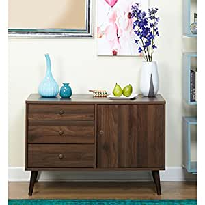 Simple living carroll mid century buffet for Minimalist living amazon