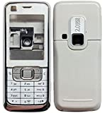 MAXXTREND Replacement Full Body Housing Back, Body Panel For Nokia 6120 Classic- White (best quelity)