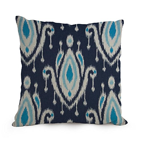 Bestseason Paisley Pattern Throw Pillow Covers 18 X 18 Inches / 45 By 45 Cm Best Choice For Wedding,car Seat,her,bench,birthday,teens Boys With 2 Sides