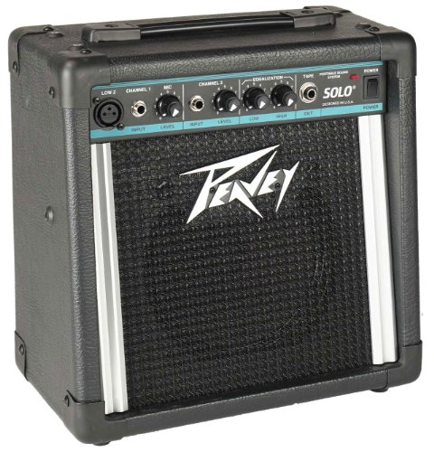 - Peavey Solo Portable Battery Operated Sound System
