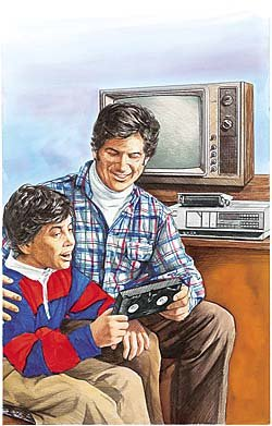 Paul and Chris Calle: 1970s - VCR's - J