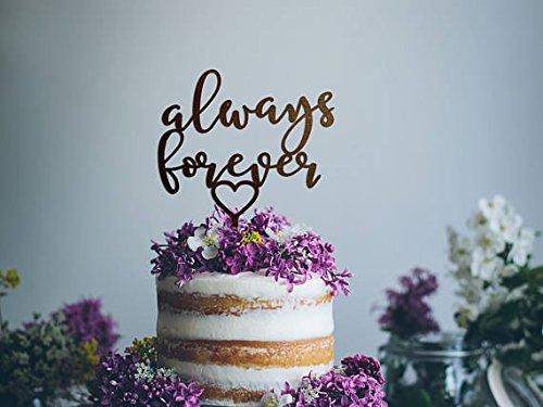 Immer Und Fur Immer Hochzeitstorte Topper Hochzeit Kuchen Topper