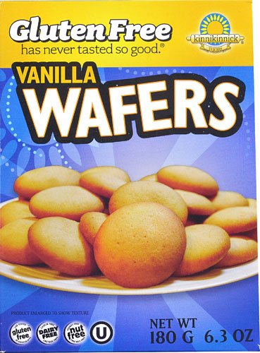 Kinnikinnick Vanilla Wafers, 6.3 Ounce (Pack of 3)