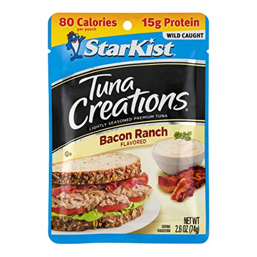 StarKist Creations Tuna, Bacon Ranch, 2.6 Ounce (Pack of 24)