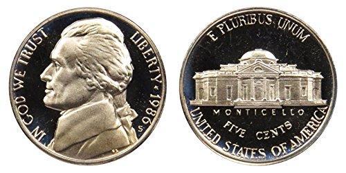1986 S Proof Jefferson Nickel PF1