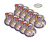 PACK OF 10 - Hartz Just For Cats Catnip Filled Mini Mouse Cat Toy - 5 CT