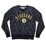 Licensed Apparel Mens Pit Steelers Athletic Pullover Thermal Sweatshirt