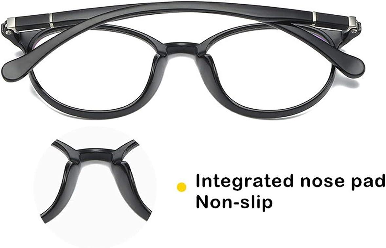 JIUPO Brille Ohne Sehst/ärke TR90 Licht flexibel Brillengestelle Klassische Nerdbrille rund 40er 50er Jahre Pantobrille Vintage Look clear lens