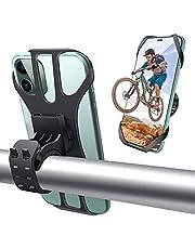 NICEDACK Universele telefoonhouder voor op de fiets, veilig afneembare telefoonhouder voor op de fiets, 360 graden draaibaar, voor smartphones van 4,5-7 inch