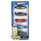 : Hot Wheels 5 Car Gift Pack - Heat Fleet (Cars May Vary)