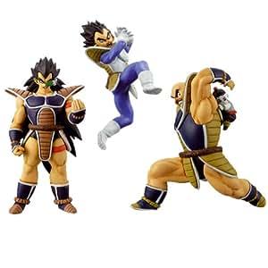 Dragon Ball - Pack 3 Figuras Set 2 : Vegeta + Radditz