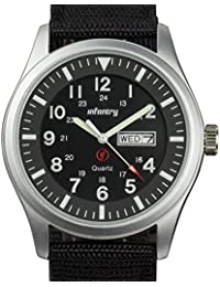 Mens Military Army Analog Watch Field Sport Wrist Watches for Men Day Date