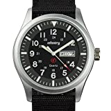 INFANTRY Mens Army Military Field Analog Watch Simple - Best Reviews Guide