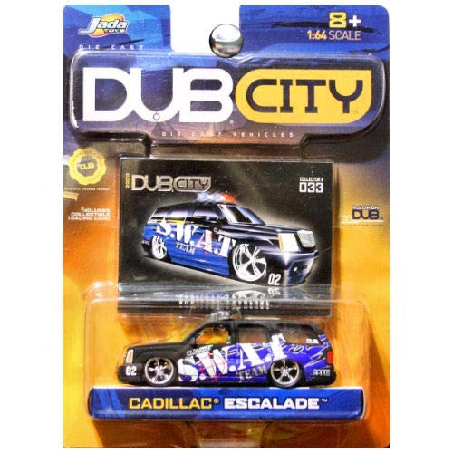 - JADA Dub City Cadillac Escalade SWAT Team Police Black